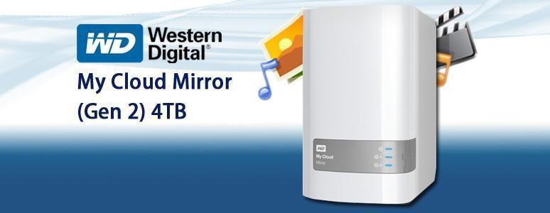 [XF] WD My Cloud Mirror(Gen 2) 4TB 個人雲端輕鬆建 資料管理很省心