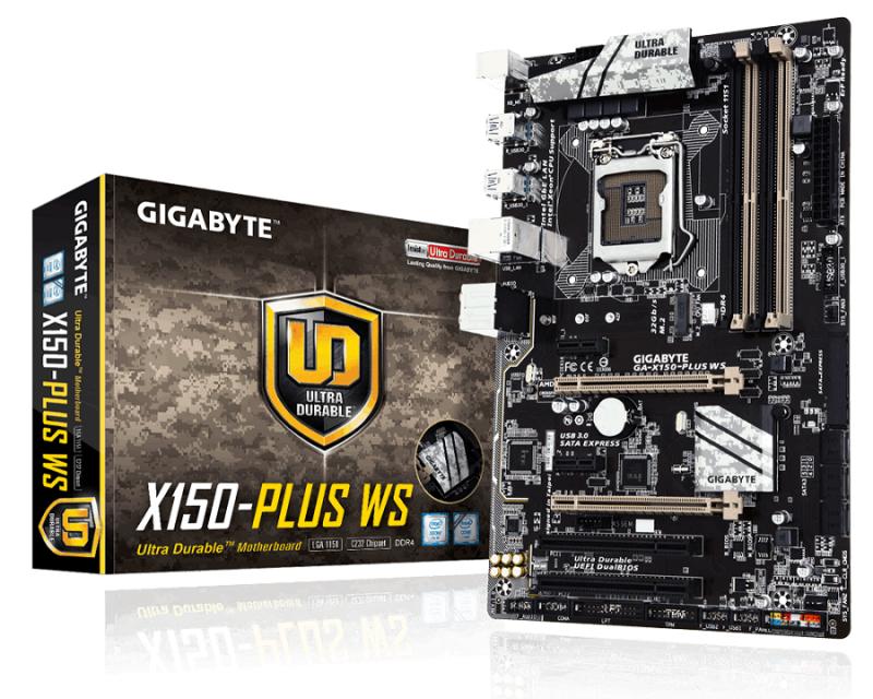 Gigabyte推出X150系列主機板 搭配Intel C232晶片