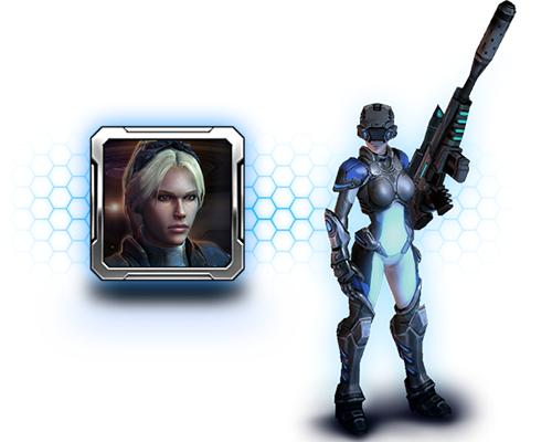 《星海爭霸®II:諾娃特務密令™》現正開放預購送諾娃頭像及幽靈特務單位造型!