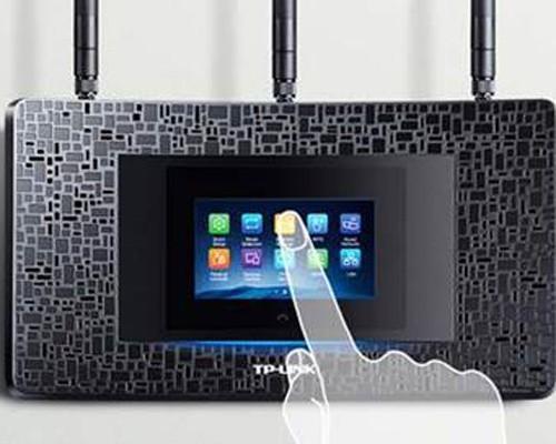 具備觸控螢幕的TP-LINK Touch P5 AC1900無線分享器讓你輕鬆上手直接設定功能