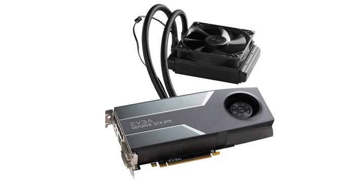 EVGA推出空冷水冷混合散熱顯示卡GeForce GTX 970 HYBRID GAMING