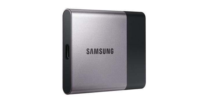 Samsung推出外接固態硬碟Portable T3採用USB 3.1 Type-C傳輸介面