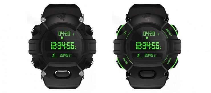 燈場也玩手錶雷蛇推出雙屏幕智能腕錶