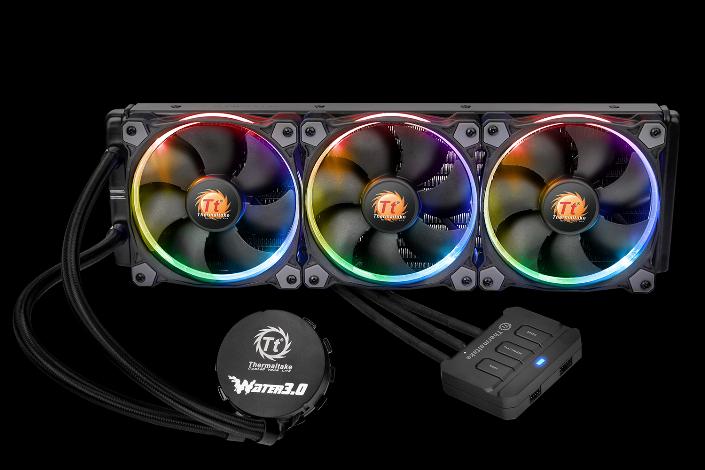 曜越最新 Water 3.0 Riing RGB系列 一體式水冷散熱排