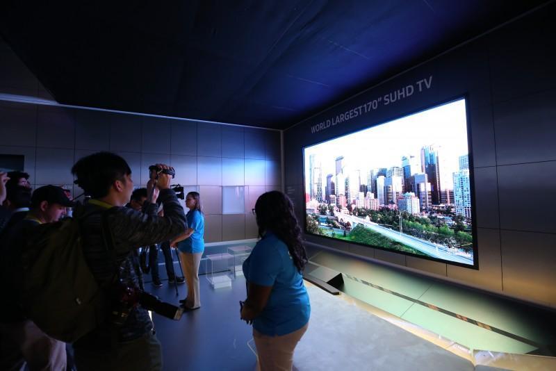 三星於2016年CES發表未來電視概念