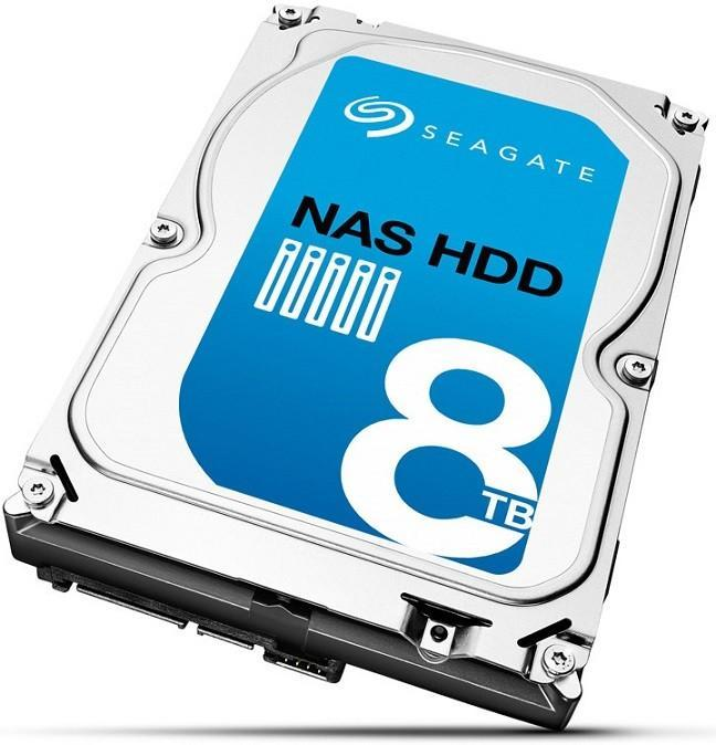 Seagate NAS HDD 8TB登場