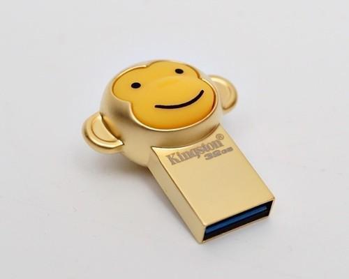 [XF] 金猴報喜 碟藏真憶 Kingston USB3.1 32GB 2016年金猴隨身碟簡測