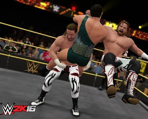 《WWE 2K16》「明日之星包」可下載內容現已推出