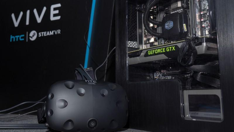 推廣【VR Ready】計畫,NVIDIA於2016台北電玩展聯手HTC打造超帶感虛擬實境體驗!