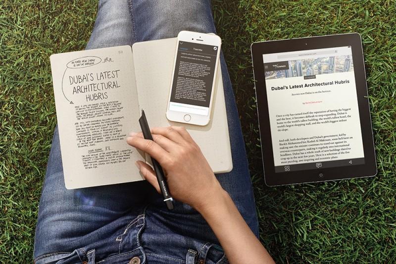 Moleskine Smart Writing Set,筆記本內容直接數位化