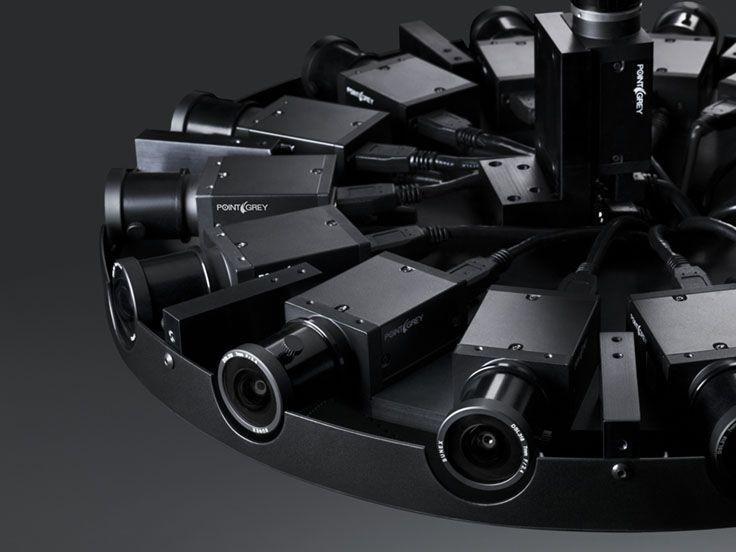 Facebook發布開源3D全景攝像頭,成本30000美元
