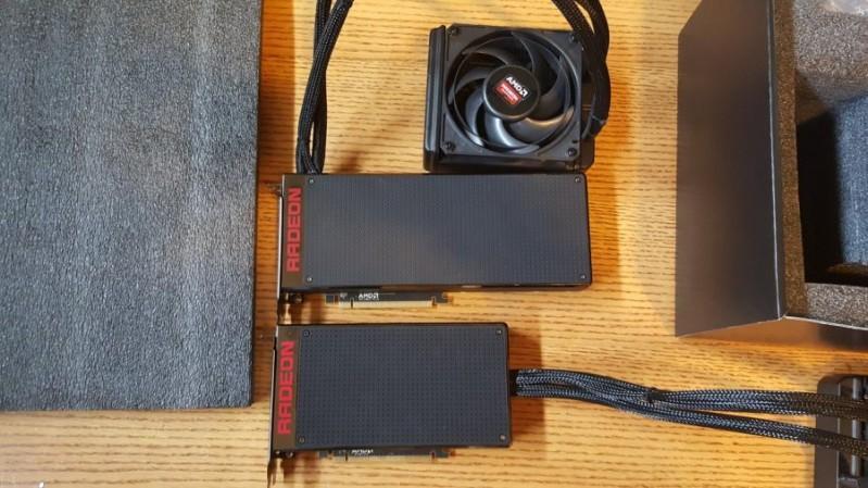 XFX AMD Radeon Pro Duo雙Fiji核心顯示卡曝光