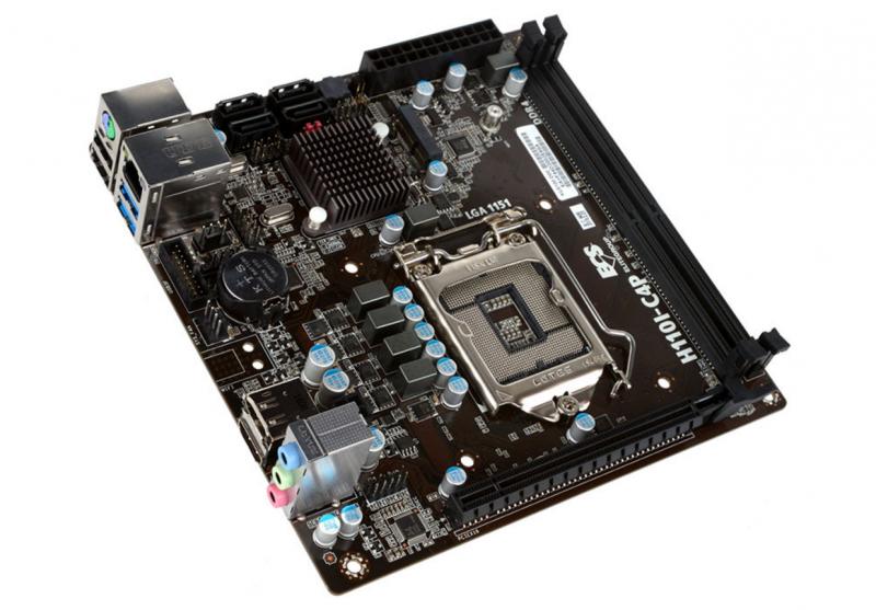 ECS 精英 推出 H110I-C4P mini-ITX主機板