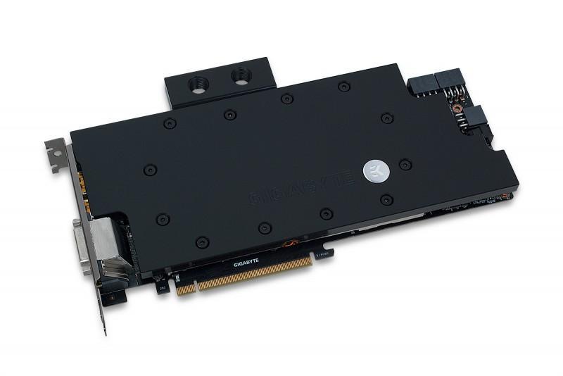 EK推出GIGABYTE GTX 980 Ti XTREME GAMING全覆蓋水冷頭
