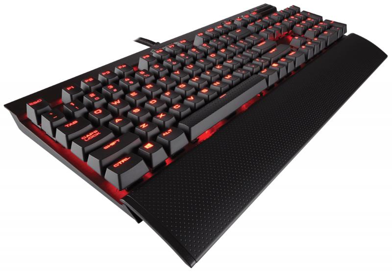 Corsair海盜船發表三款CHERRY MX SPEED SILVER銀軸機械式鍵盤