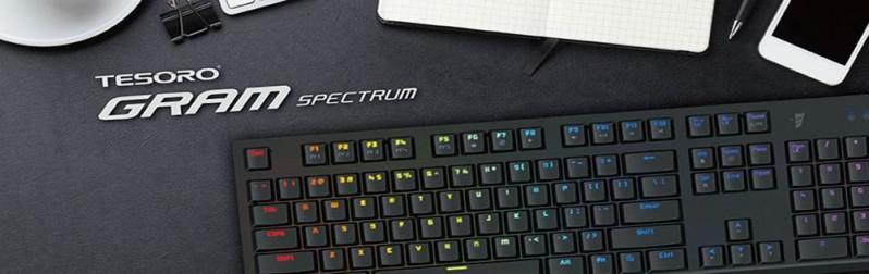 Tesoro鉄修羅推出最新矮軸機械式鍵盤GRAM剋龍劍 幻彩版