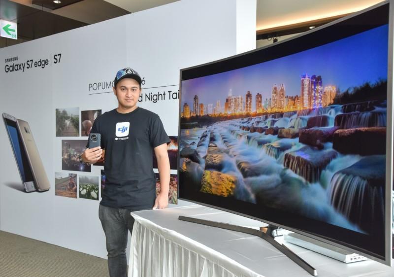 泰國愛台攝影師以Samsung Galaxy S7 edge拍攝專業級台灣行腳之戀
