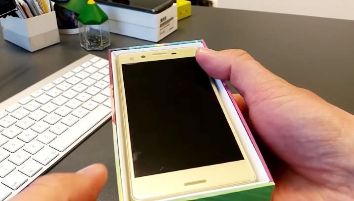預購中的 Sony Xperia X 居然真機曝光,海外玩家極速開箱