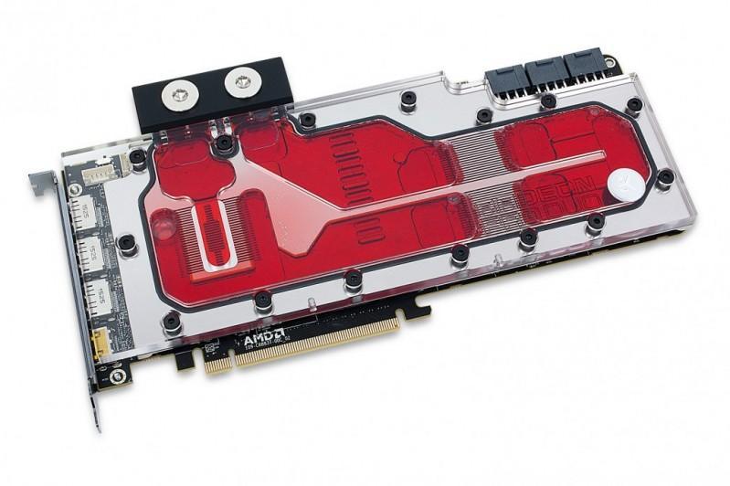 EK為AMD Radeon Pro Duo顯示卡推出全覆蓋水冷頭