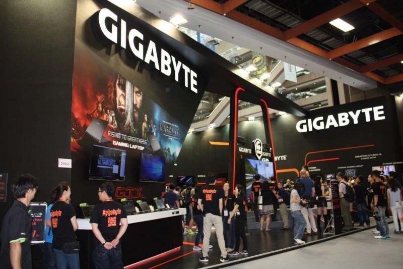 GIGABYTE技嘉玩轉COMPUTEX 打造電競嘉年華