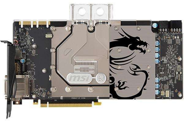 MSI推出GTX 1080 SEA HAWK EK和GTX 1070 SEA HAWK EK水冷頭顯示卡