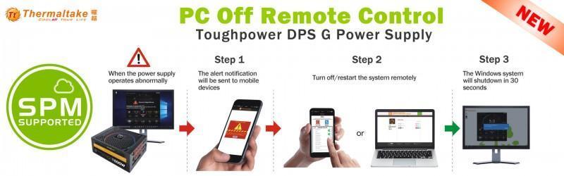 Thermaltake曜越Toughpower DPS G雲端智慧電源全系列搭載SPM雲端智慧電源管理平台Smart Power Manage...