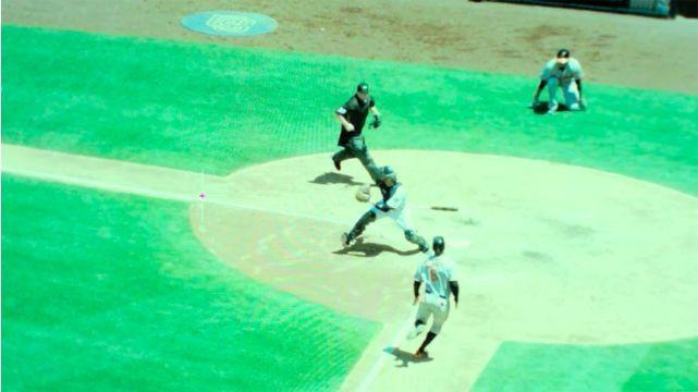 英特爾為職業棒球大聯盟比賽設計360°全景回放技術