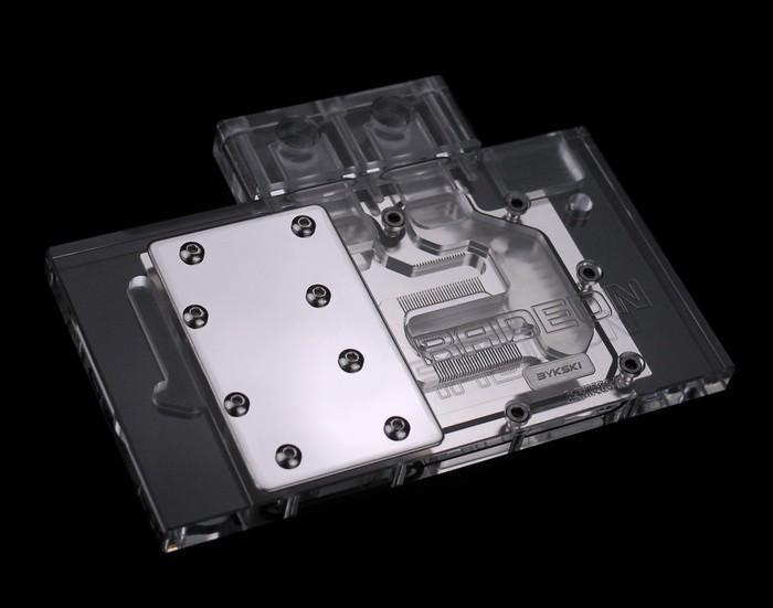 BYKSKI 推出 AMD RX 480公版顯示卡全覆蓋水冷頭