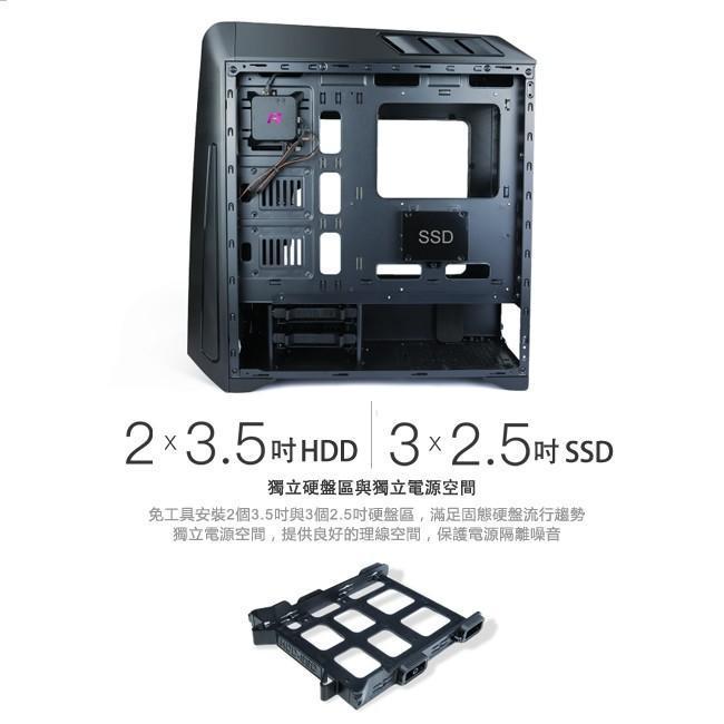 Antec GX系列款GX1200魅影魔盒機箱強勢在台上市!