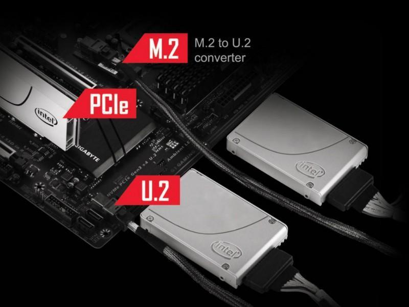 GIGABYTE、Intel SSD 750×3 RAID対応Z170主機板GA-Z170X-Ultra Gaming登場
