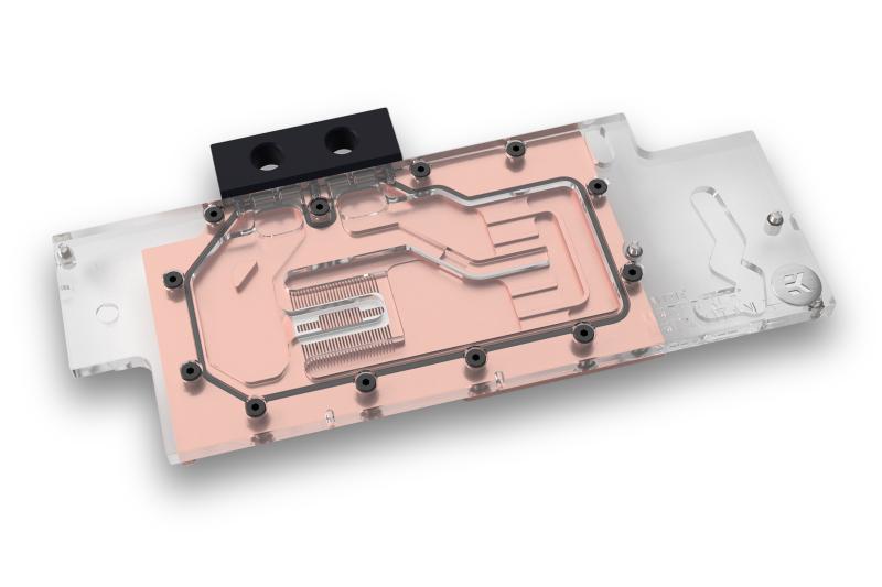 EK推出GTX TITAN X Pascal顯示卡水冷頭,背板顏色多樣化