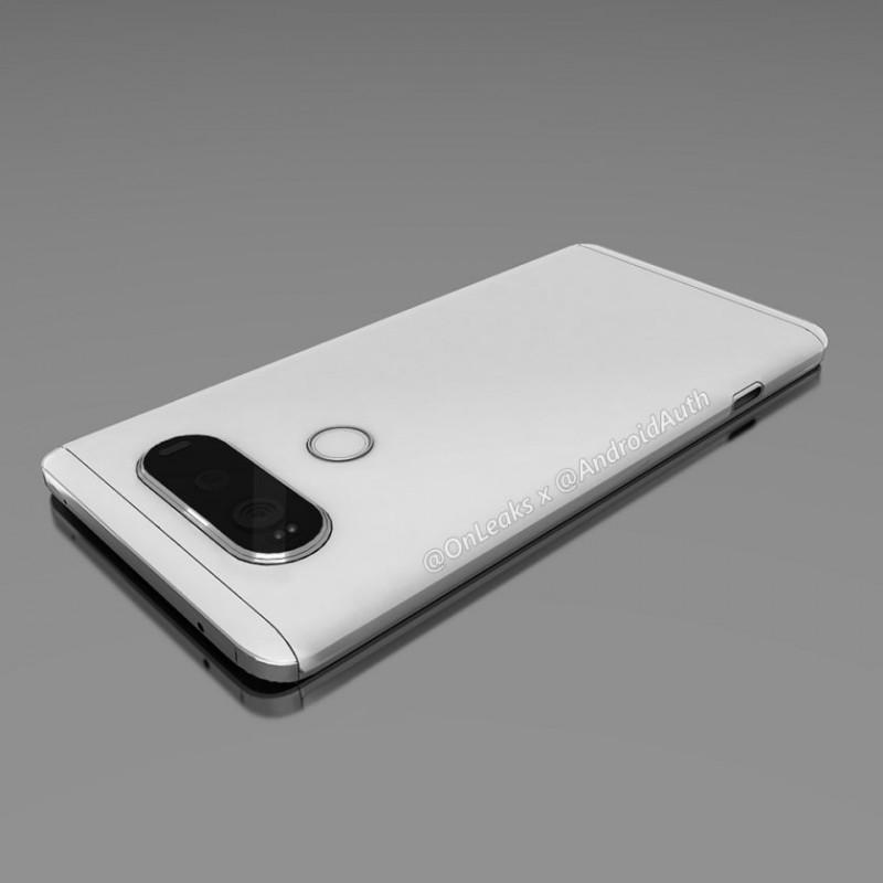 LG V20外觀曝光,高屏占比加上雙鏡頭和雙螢幕設計