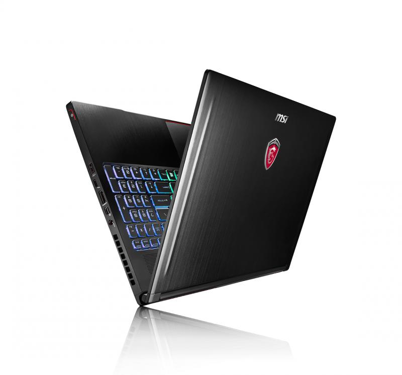 MSI微星科技領先全球推出搭載NVIDIA GeForce GTX 10系列獨顯電競筆電