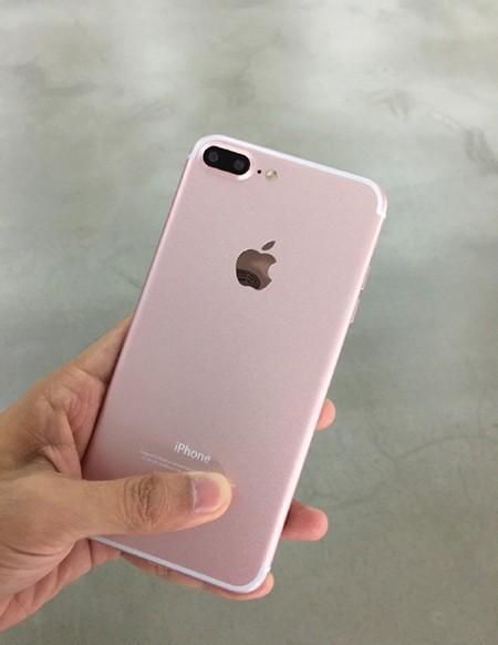 疑似玫瑰金版iPhone 7 Plus曝光