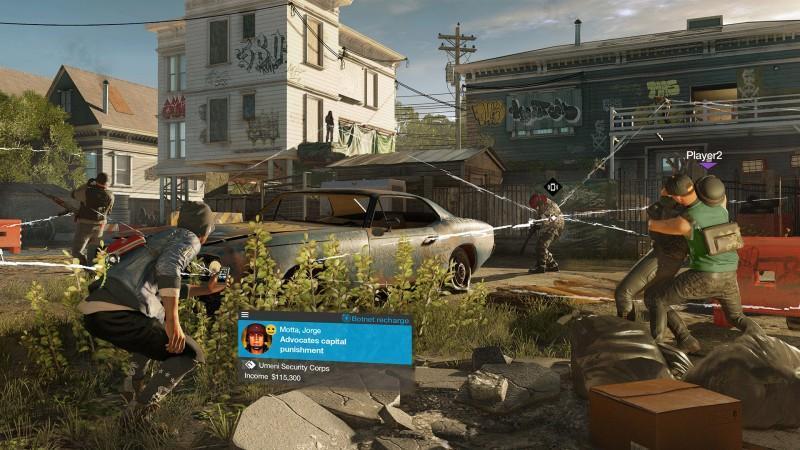 Ubisoft 揭露看門狗 2 賞金獵人多人模式 帶來無接縫線上遊戲體驗