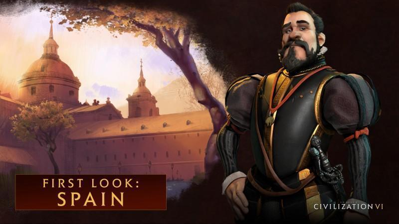 席德·梅爾的文明帝國VI 裡由腓力二世擔任西班牙領袖