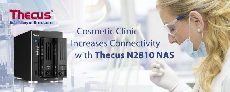 Thecus NAS 幫助美容診所提升營運效率