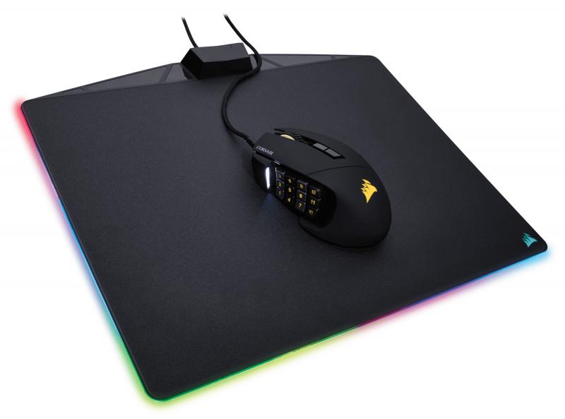 就是要發光,Corsair海盜船發布MM800 RGB電競滑鼠墊