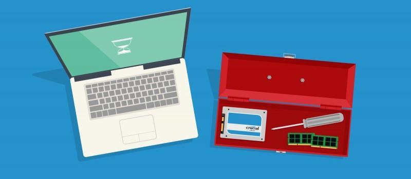 如何修復運行緩慢的電腦,從升級記憶體和 SSD 開始