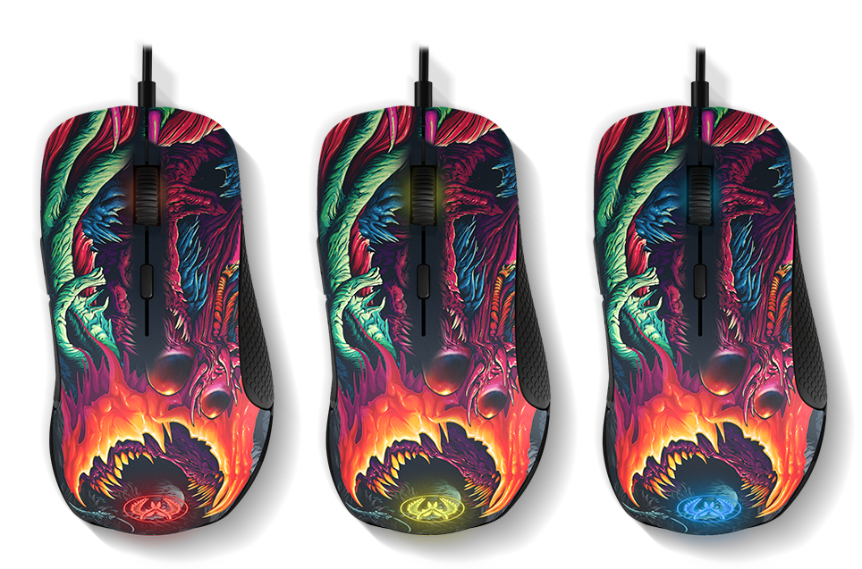 SteelSeries 推出 CS:GO HYPER BEAST 塗裝 RIVAL 300 與 QCK+ - XFastest - rival300csgohyperbeast_section_4.png