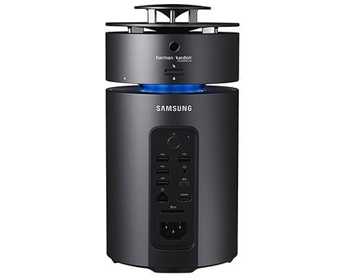 Samsung ArtPC Pulse 亮相, 圓柱形設計與 360 度 Harmon Kardon 音效