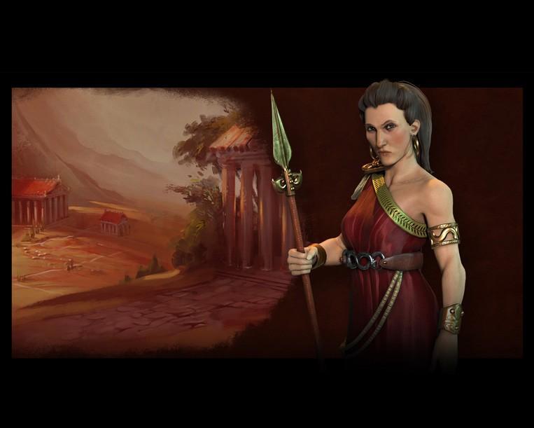 《席德·梅爾的文明帝國VI》裡也由歌果擔任希臘領袖