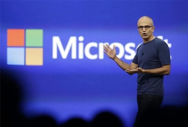 微軟公佈2017 財年第一季財報:淨利潤降4%