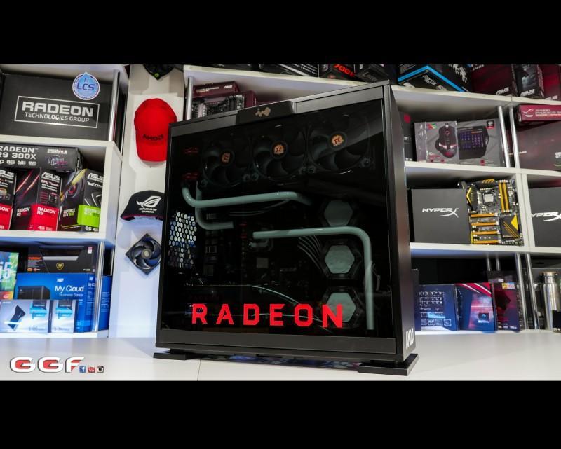 In Win 303    AMD RX 480 launch build