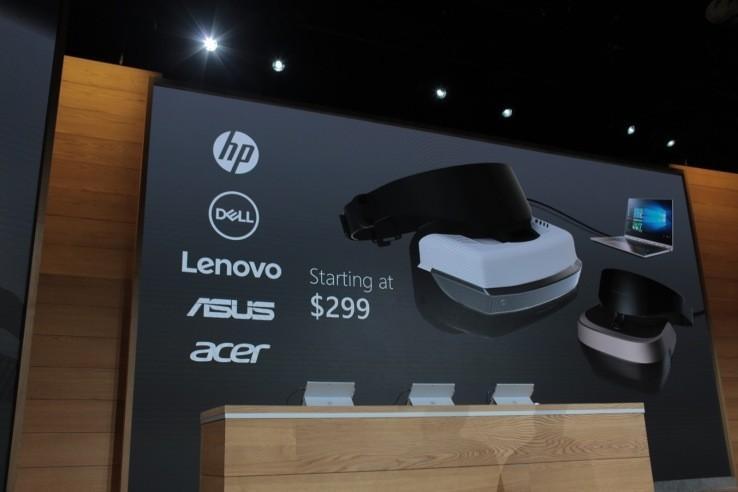 平價VR頭顯來襲!微軟聯合PC製造商把PC VR降至300美元