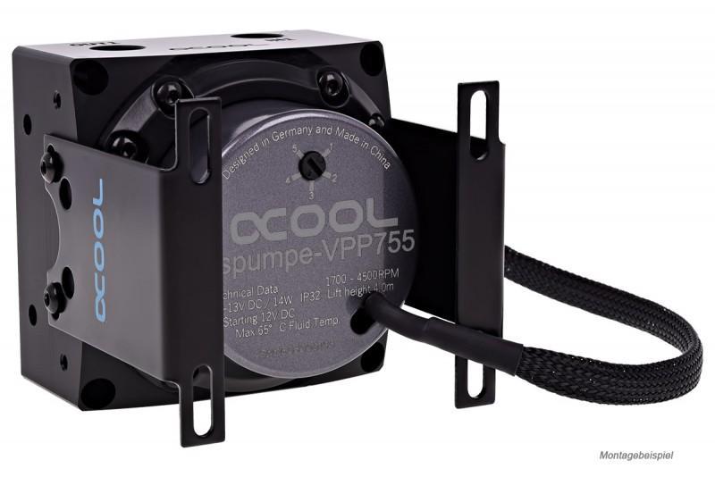 Alphacool 推出 VPP755 水泵,相容D5套件之改良版本馬達