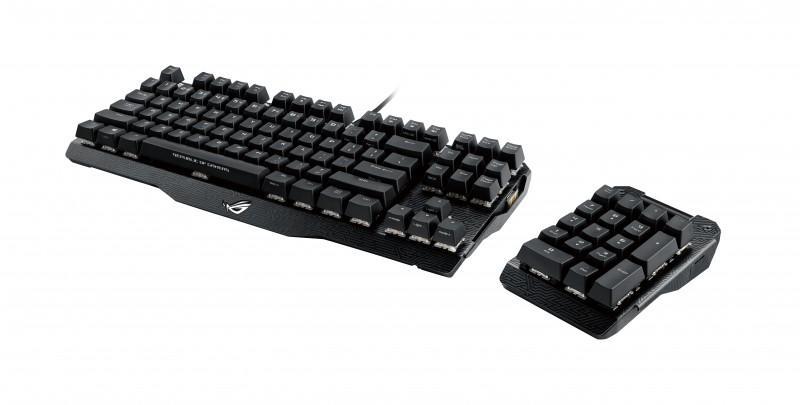 華碩ROG玩家共和國推出全新Claymore機械式電競鍵盤