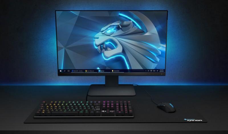 ROCCAT推出SUORA FX  RGB發光無框機械式電競鍵盤