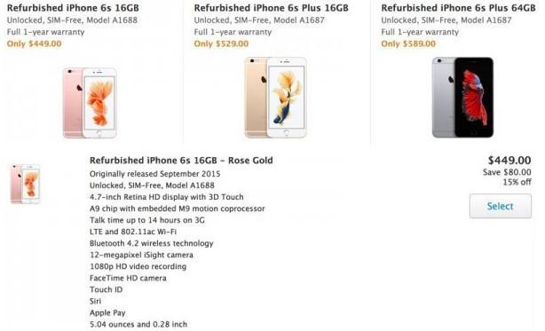 蘋果開始賣翻新iPhone了,最多便宜120美元