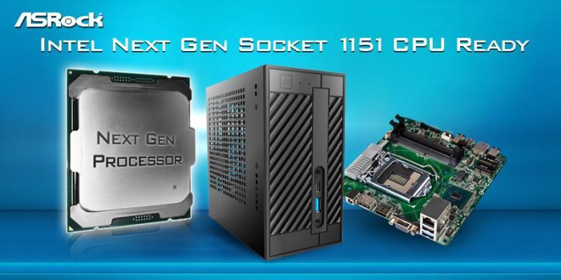 華擎DeskMini 110準系統推出新BIOS 支援Intel新一代處理器